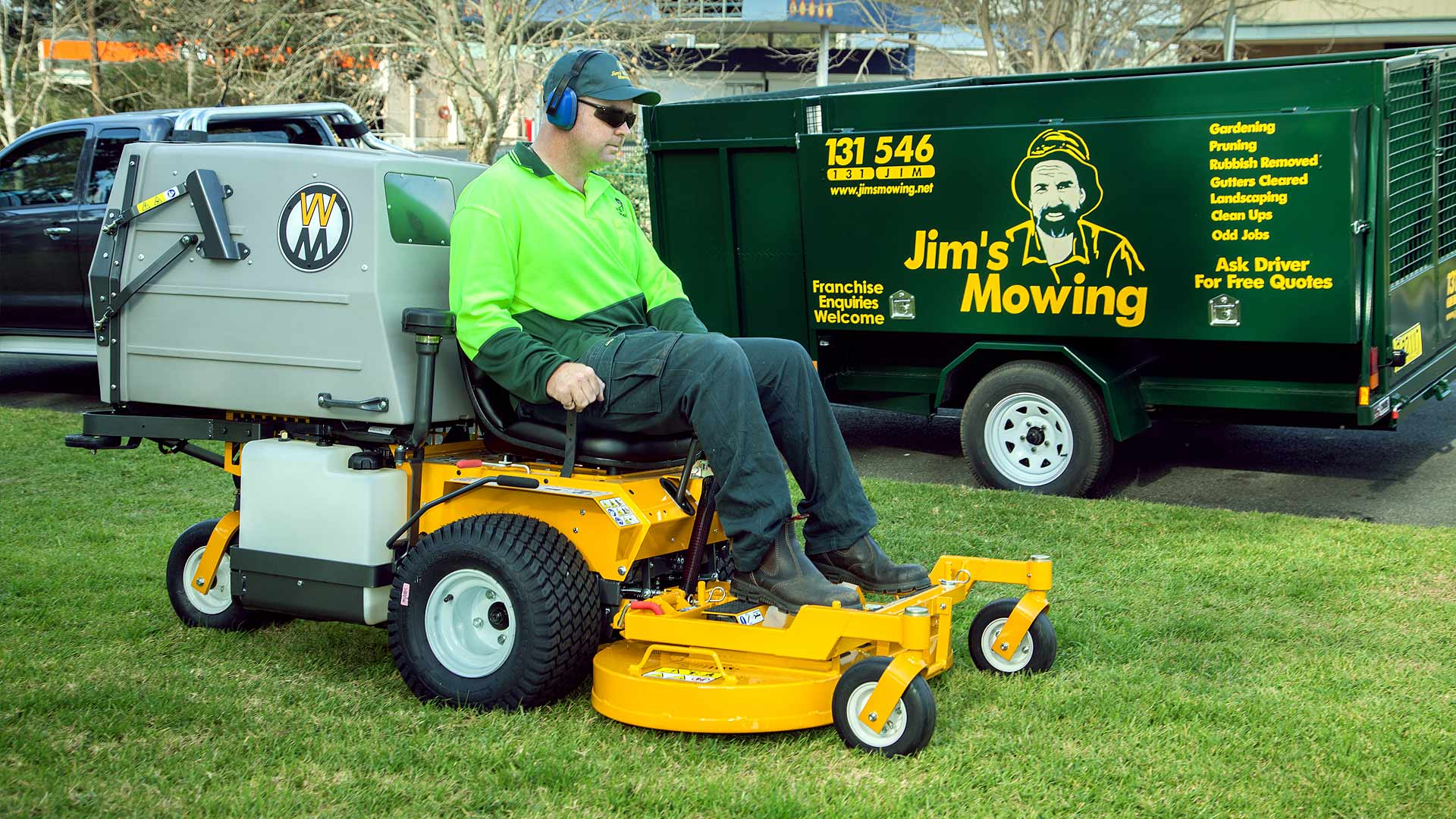 Jim S Lawn Mowing Call Us 131 546 Your Mowing Needs